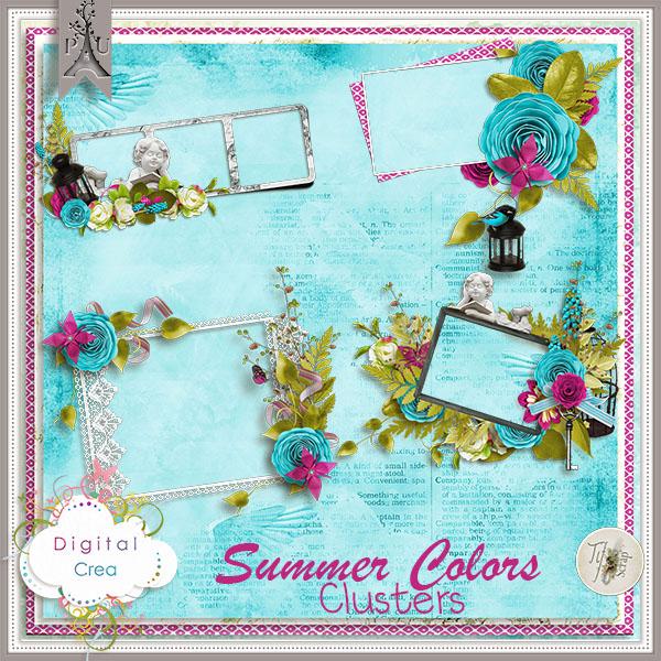 Tifscrap_SummerColors_Clusters