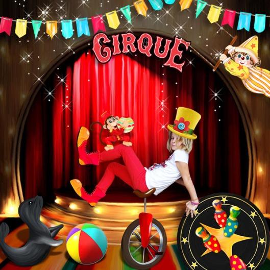 The circus magic Le petit scrap