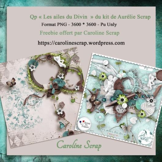 Qp offerte Les ailes du divin Aurélie