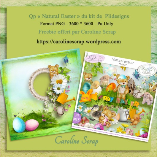 Qp offerte Plidesigns Natural Easter
