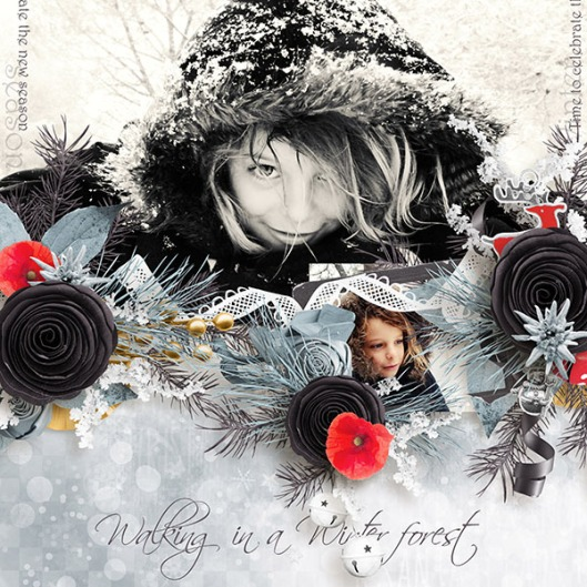 In the winter forest 2 Mooscrap