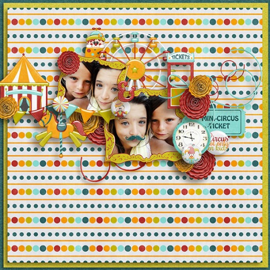 Mini Circus Aurélie