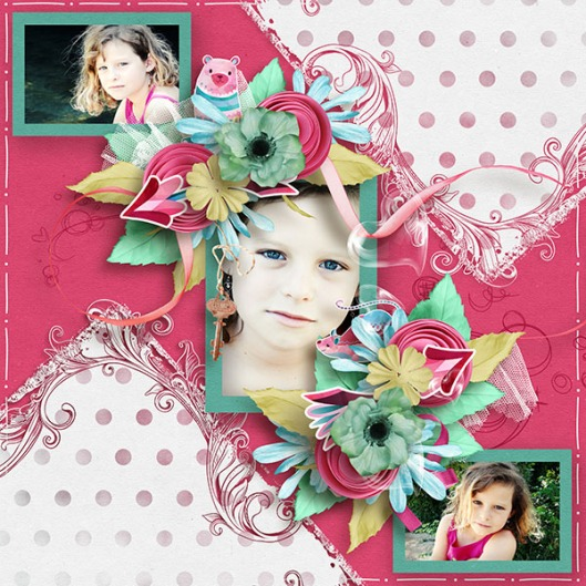 Template Mldesigns kit Love everywhere Hapiness creation