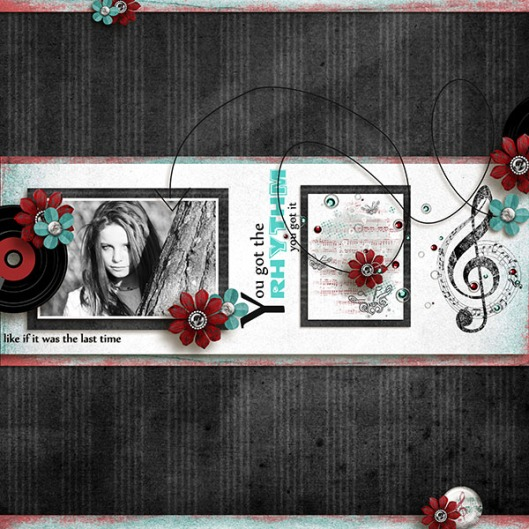 Folow the beat Graphia Bella 1 Avril