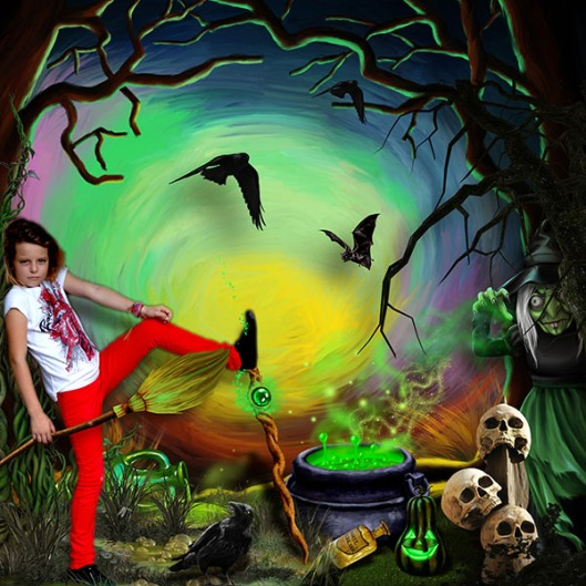 The wicked witch of the west Kitty 2 oct