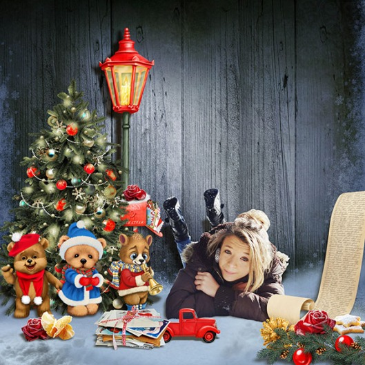 En attendant Noël Kittyscrap
